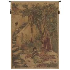The Orange Gatherers European Tapestry