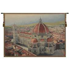 Florence Cathedral Italian Tapestry Wall Hanging