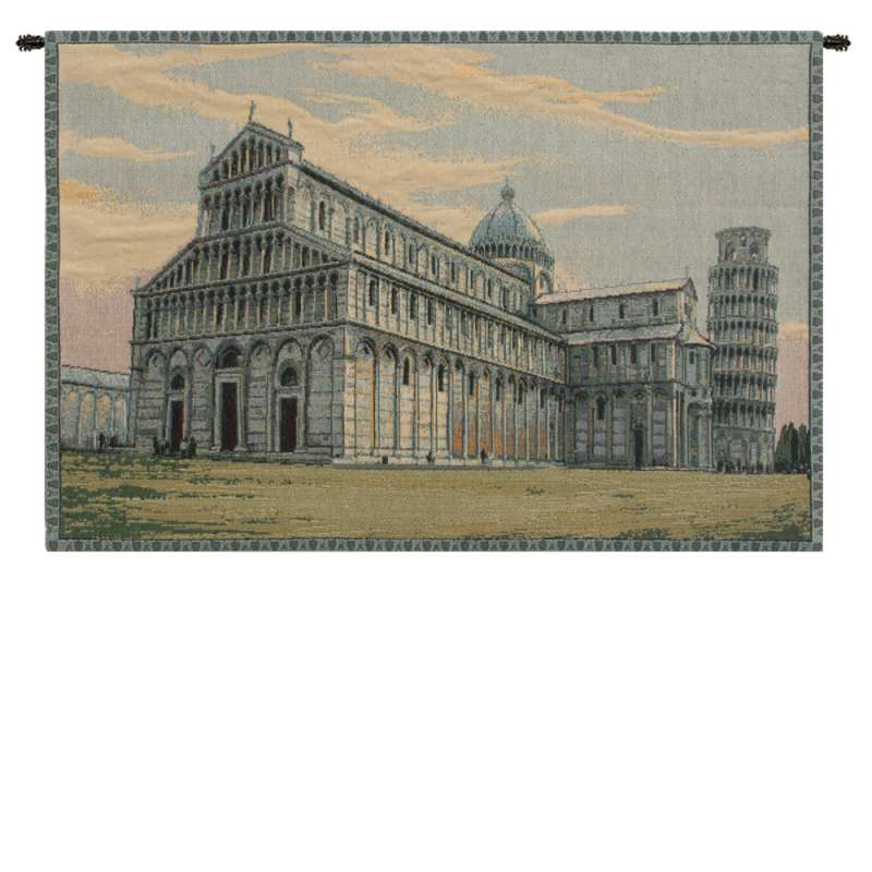 Duomo Pisa Italian Tapestry Wall Hanging