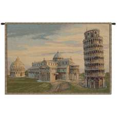 Torre duomo Battistero Italian Tapestry Wall Hanging