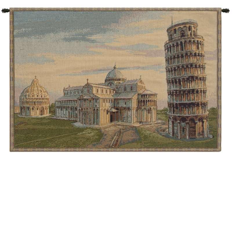 Torre duomo Battistero Italian Tapestry Wall Hanging