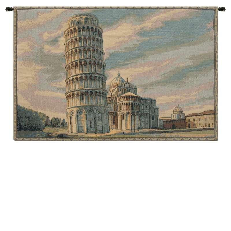 Torre di Pisa Italian Tapestry Wall Hanging