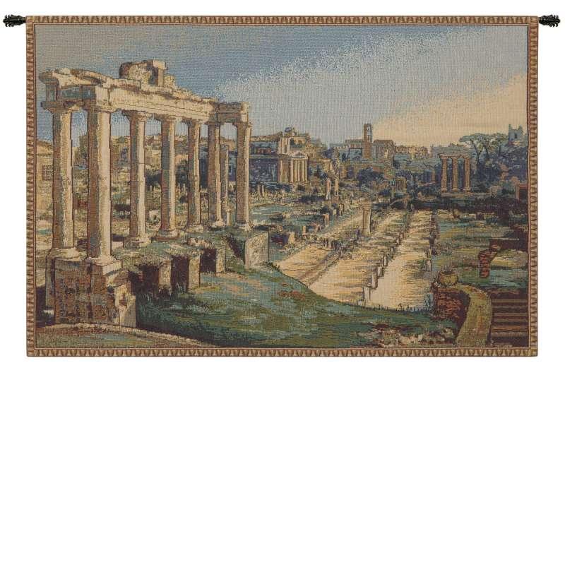 Fori Romani Italian Tapestry Wall Hanging