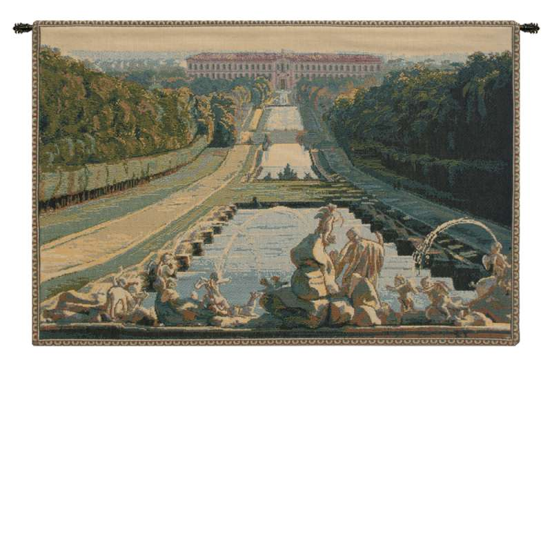 Reggia Caserta Italian Tapestry Wall Hanging