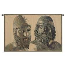 Bronzi di Riace Italian Tapestry Wall Hanging