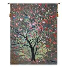 Hopefull Tree by Simon Bull  Belgian Tapestry Wall Hanging