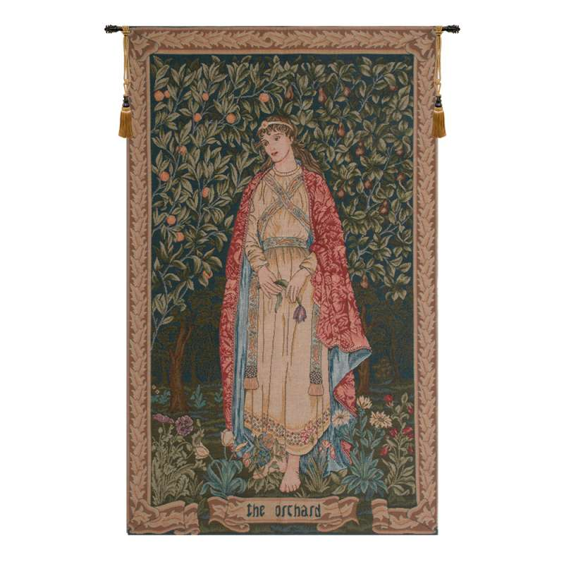 Orchard by William Morris French Tapestry