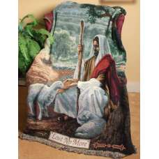 Lost No More I Tapestry Throw