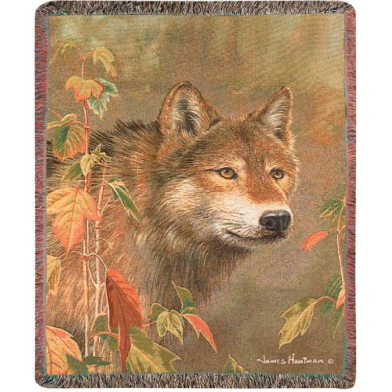 Hidden in the Mist I Tapestry Throw