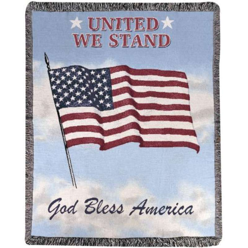 United We Stand I Tapestry Throw