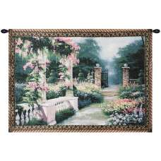 Afternoon Repose Fine Art Tapestry