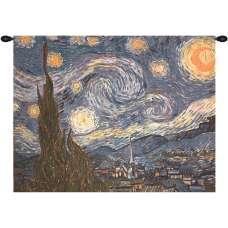 Starry Night Fine Art Tapestry