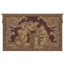 Annunciation Italian Tapestry Wall Hanging
