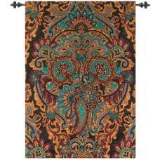 Ariana Paisley Chenille  Fine Art Tapestry