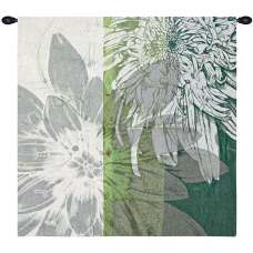 Graphic Blooms I Fine Art Tapestry