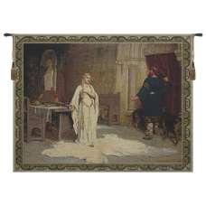 Lady Godiva Courtyard Fine Art Tapestry