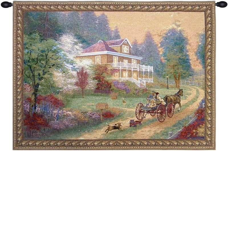 Sunday Drive Tapestry Wall Art
