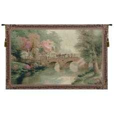 Hometown Bridge Tapestry Wall Art