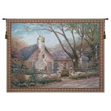 Morning Glory (House) Tapestry Wall Art
