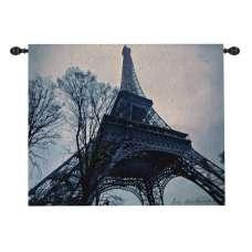 Eiffel Tower  Fine Art Tapestry