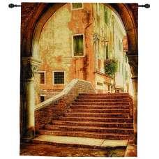 Italian Archway Fine Art Tapestry