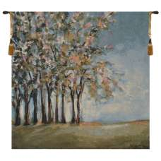 Tree in Spring Fine Art Tapestry