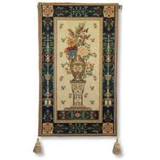 Mum Pedistal Vase Tapestry Wall Hanging