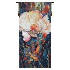 In Your Light Blue Belgian Tapestry Wall Hanging