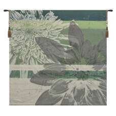 Graphic Blooms II Tapestry of Fine Art