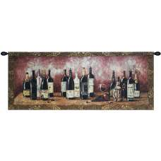 Fruit and Wine Melody Tapestry Wall Art