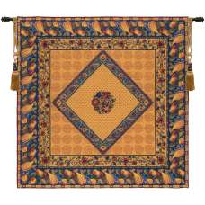 Floral Harvest French Tapestry Throw
