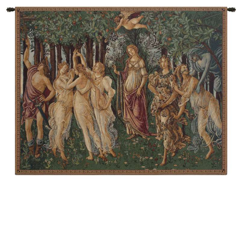 La Primavera Italian Tapestry Wall Hanging