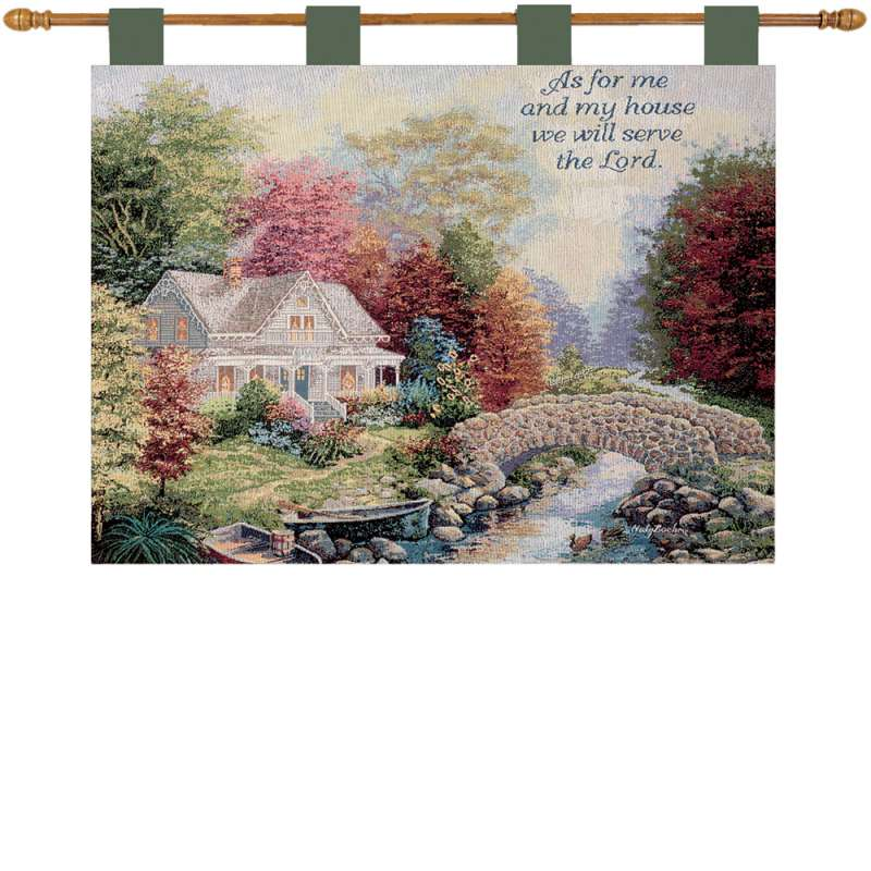 Autumn Tranquility Fine Art Tapestry