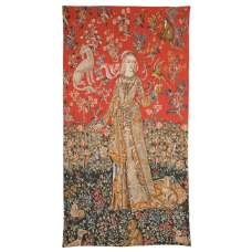 Dame de Cluny French Tapestry Wall Hanging