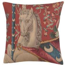 Monokeros French Tapestry Cushion