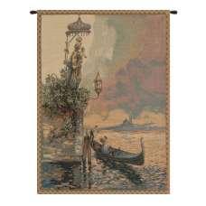 Gondola Italian Tapestry Wall Hanging