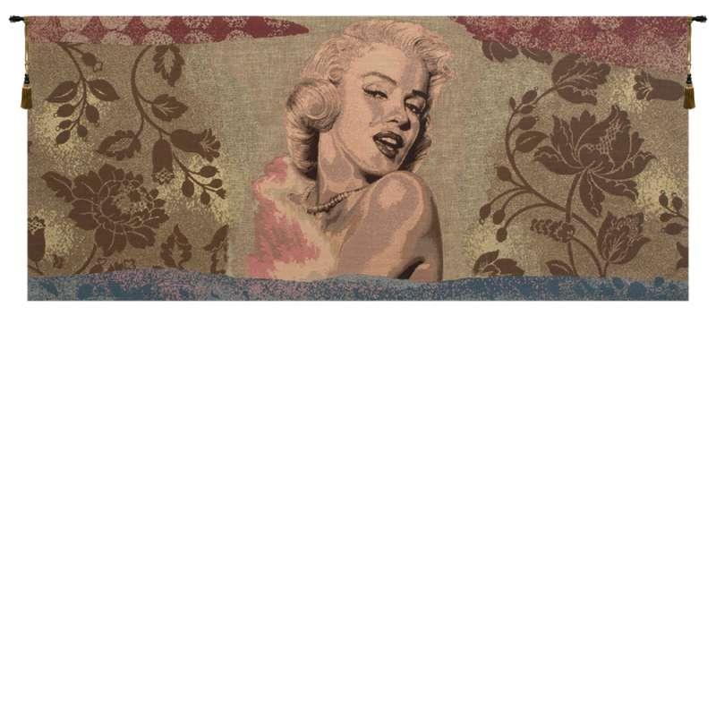 Marylin Monroe Italian Tapestry Wall Hanging
