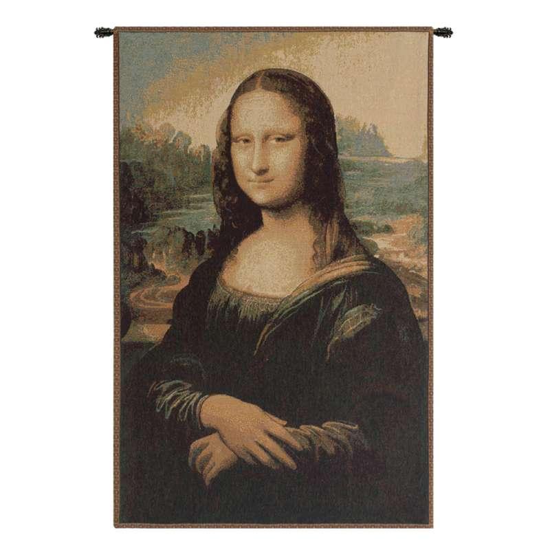 The Mona Lisa Italian Tapestry Wall Hanging