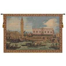 Bucintoro I Small Italian Tapestry Wall Hanging