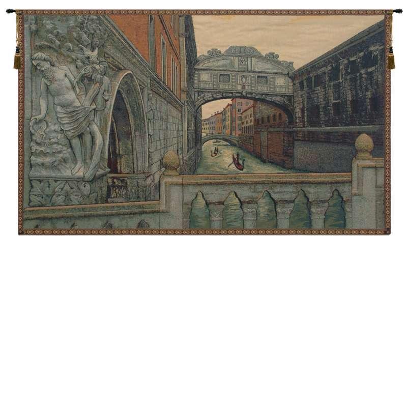 Bridge of Sighs II Italian Tapestry Wall Hanging