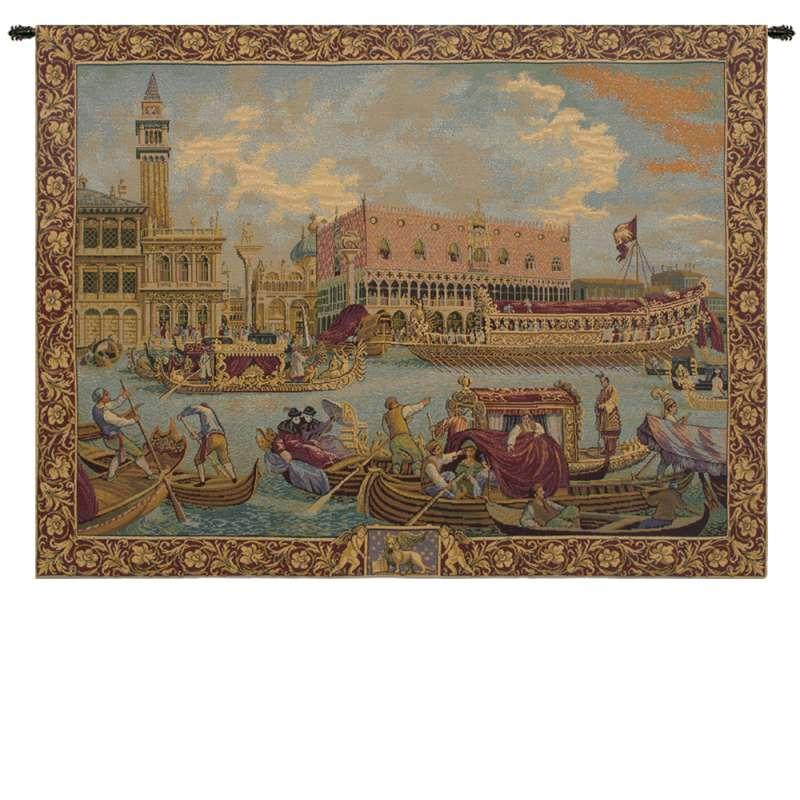 Bucintoro Italian Tapestry Wall Hanging