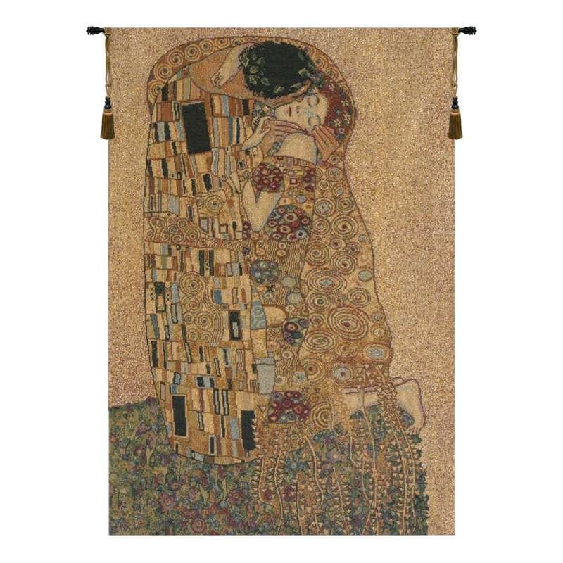 The Kiss II Italian Tapestry Wall Hanging