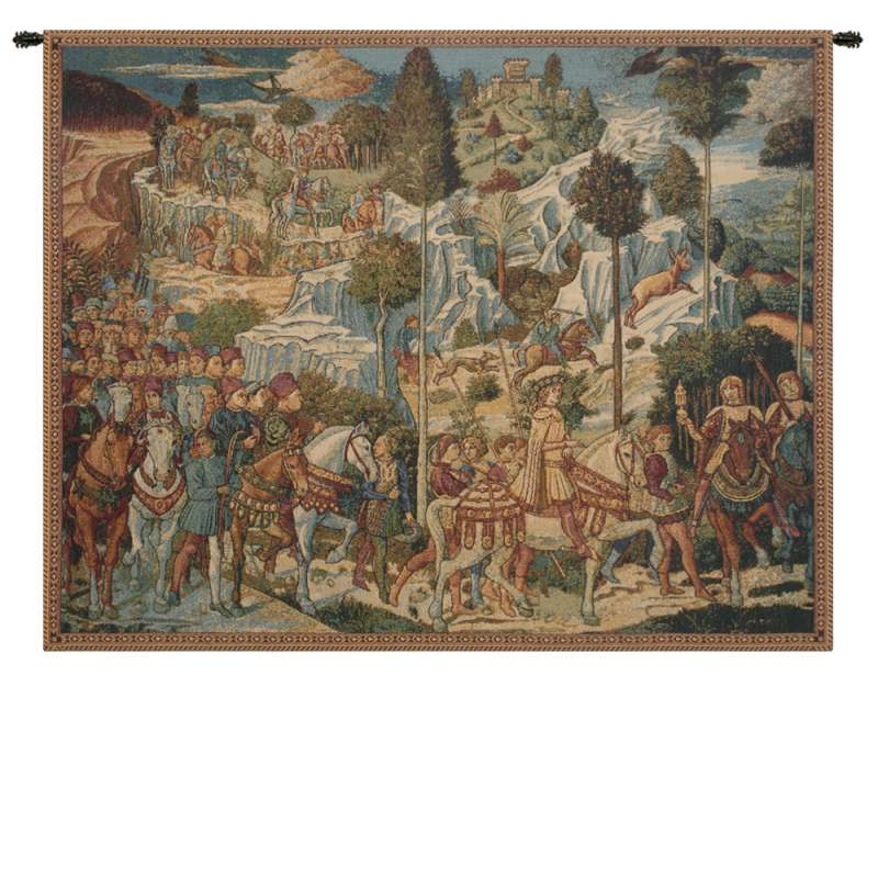 Chapel of the Magi Florence Italian Tapestry Wall Hanging