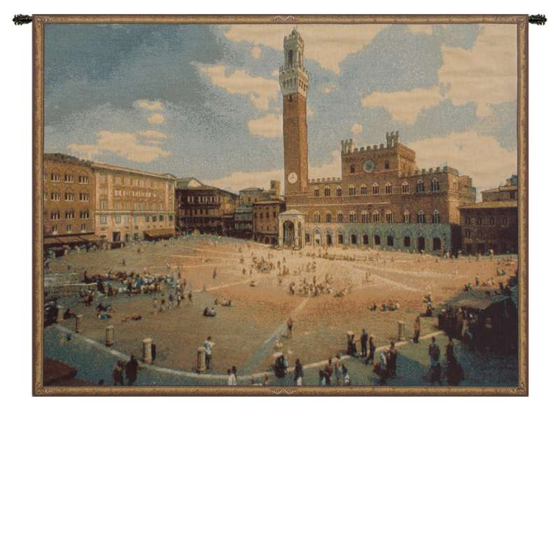 Siena Square Italian Tapestry Wall Hanging