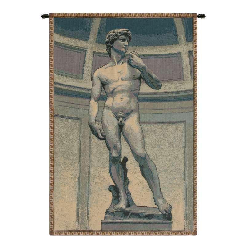 Statue of David Italian Tapestry Wall Hanging