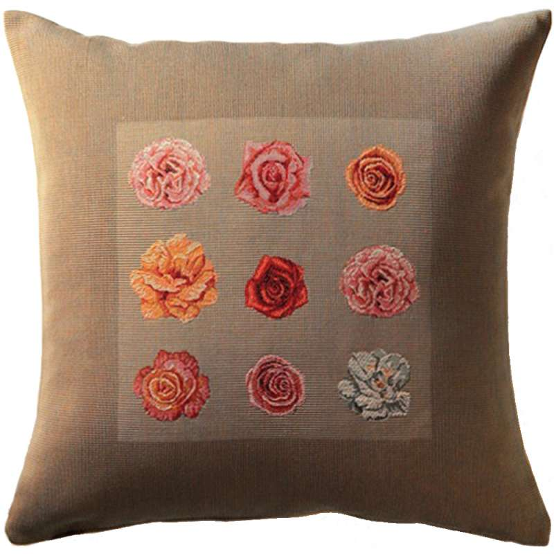 Roses 1 French Tapestry Cushion