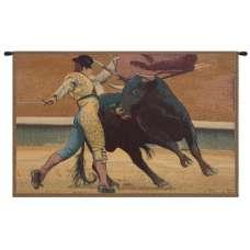 Bullfighter Torero Italian Tapestry Wall Hanging