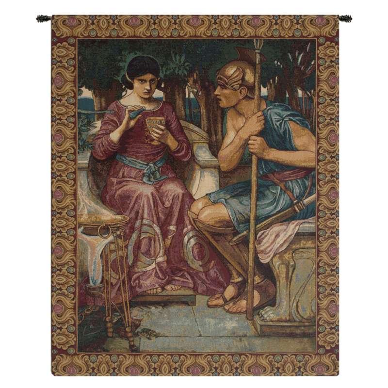 Giason and Medea Italian Tapestry Wall Hanging