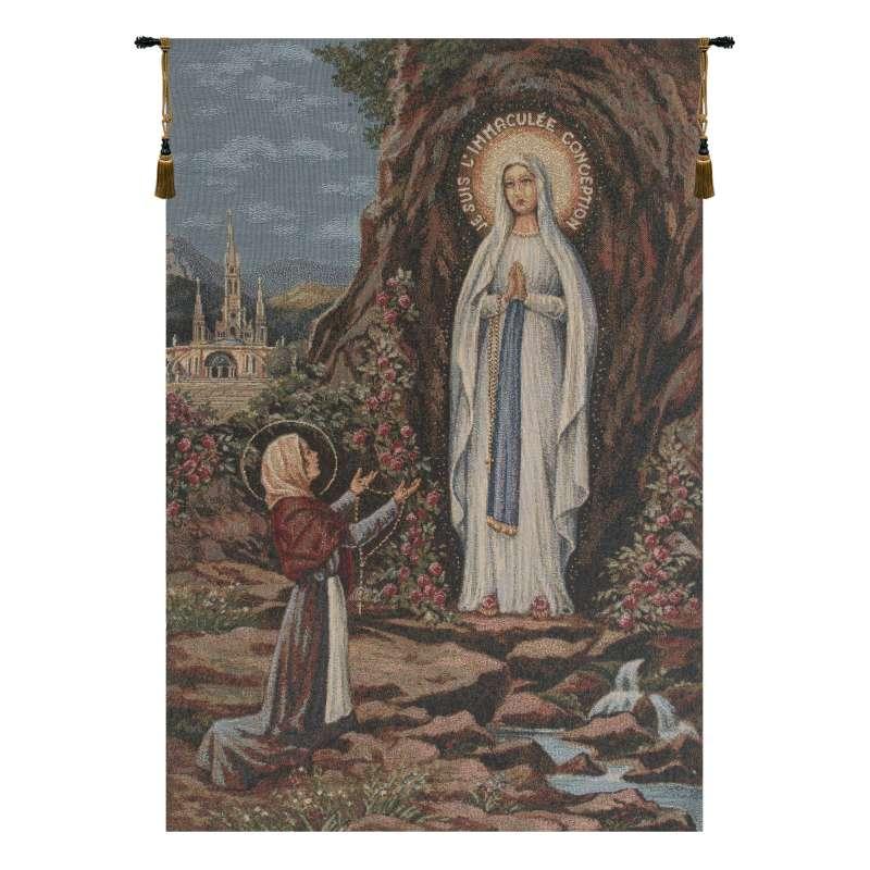 Apparitione Lourdes European Tapestries
