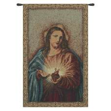 Sacred Heart of Christ European Tapestries